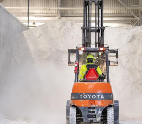 1000 boliger får genbrugsvarme fra gipsfabrik