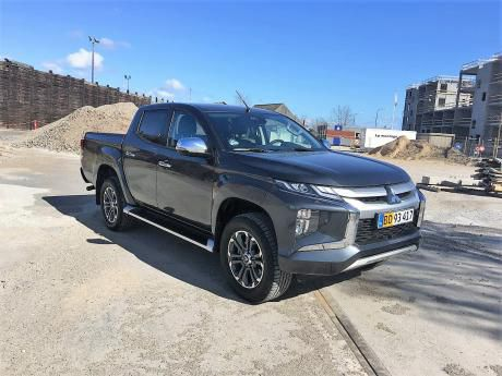 Mitsubishi pick-up L200 i test